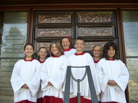 Viviane, Christina, Anna, Josephine, Jonas, Sophia, Helena. © Bild: Dorothy Gmyrek