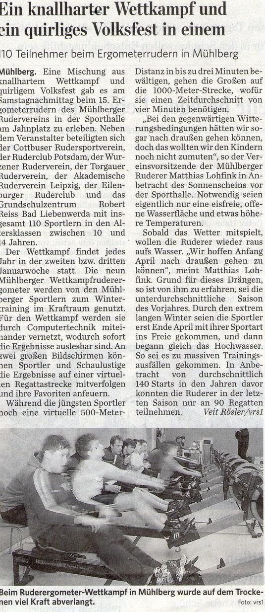 """aus """"Lausitzer Rundschau"""" vom 20.01.2014, Seite 14"""