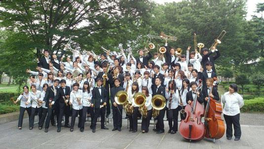 群馬県吹奏楽コンクールに出場し、金賞を受賞いたしました。併せて、9月20日に行われる西関東吹奏楽コンクールへの群馬県代表推薦もいただくことが出来ました。