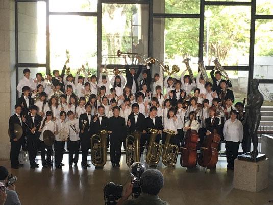 8月13日(日)に、ベイシア文化ホールにて第58回群馬県吹奏楽コンクールが行われました。当部は金賞を受賞し、西関東大会への推薦をいただくことができました。西関東大会でも頑張りますので、応援よろしくお願いします!
