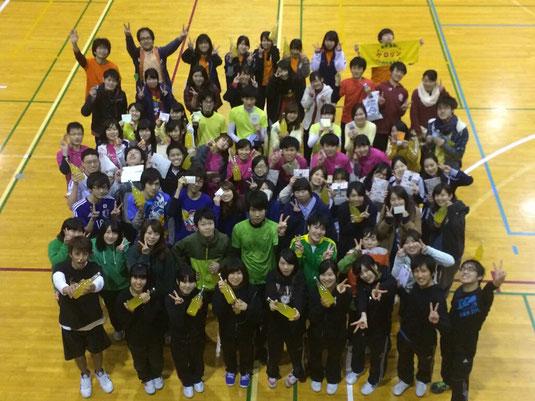 部内対抗のスポーツ大会が12月23日(水)に開かれました!全4競技での総合優勝は黒チーム!おめでとうございます。