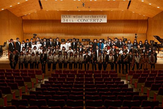 2015年2月21日に、第34回定期演奏会を開催いたしました。 お越しいただいた皆様に、心から感謝を申し上げます。
