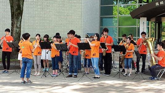 2回目となるオープンキャンパスが開催されました。 暑い一日でしたが、多くの来場の方々に演奏を聴いていただくことが出来ました。