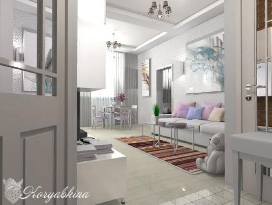 Проект выполнил частный дизайнер Анастасия Корябкина