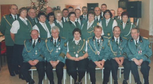 Die Mitglieder der Schützengilde Gusow 1848 e.V.