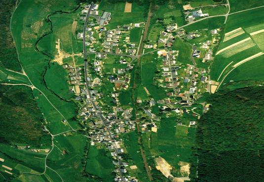 Luftbild von 1992