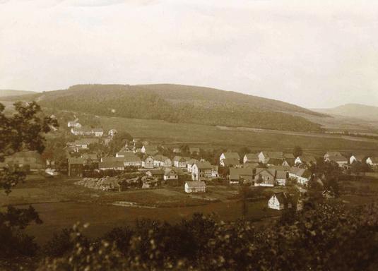 Wiederstein, kurz nach dem 1. Weltkrieg um 1920
