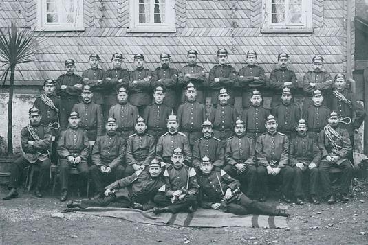 Die Freiwillige Feuerwehr Wiederstein  (1909)
