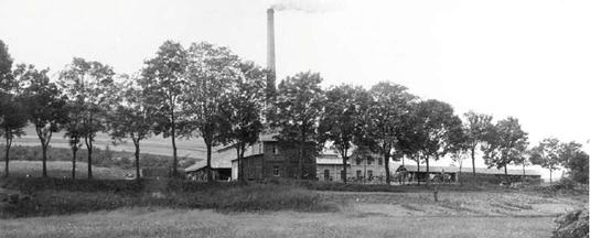 Die Ziegelei um 1920