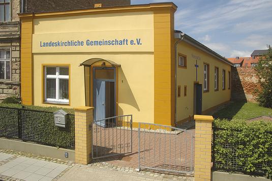 Unsere Begegnungsstätte in Neuruppin, Regattastraße 1