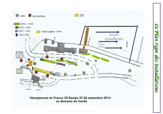 Candé, CF 3D par équipes, septembre 2014