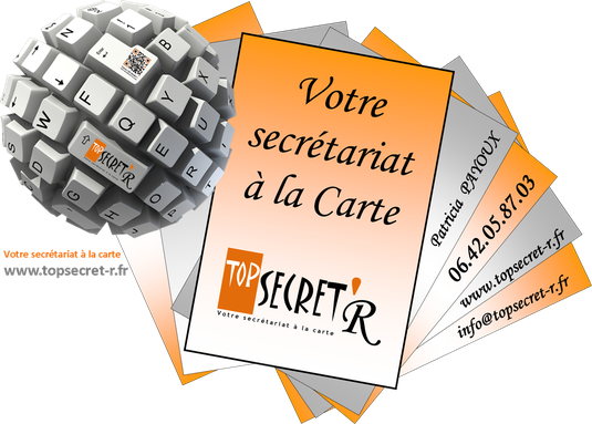 Carte De Visite TOP SECRETR