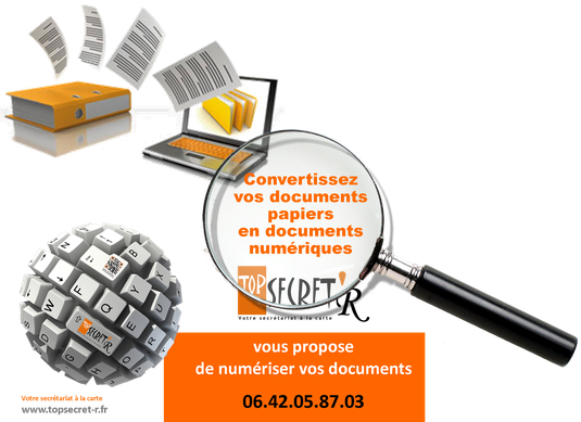Documents numériques - Top Secret'R