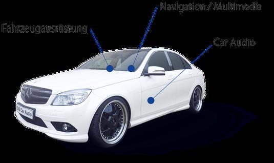 Fahrzeugnachrüstung von B&S Car Audio Schleswig Holstein und Hamburg