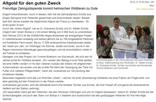 Wochenblatt, 20.02.15