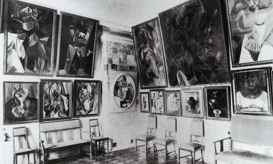 Salle du palais Troubetskoï, hôtel particulier de Sergueï Chtchoukine à Moscou, où était exposée sa collection