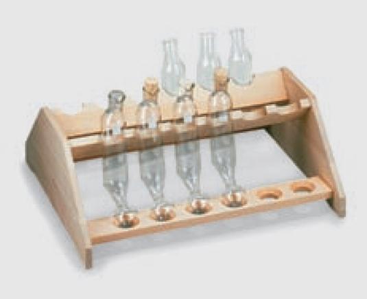 Gradilla para tubos de extracción Mojonnier 3872