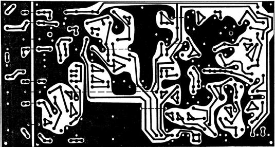 Печатная плата трансивера  225х135 мм