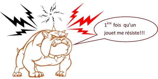 dessin chien méchant
