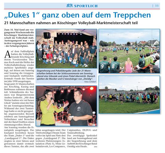 Köschinger Anzeiger - September Ausgabe 2017