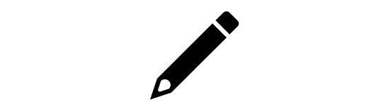 受付に使い捨て鉛筆を用意しています