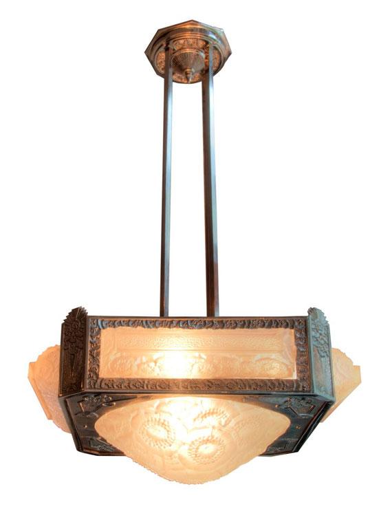 Ceiling lamp, Art Déco Wiesbaden Regine Schmitz-Avila