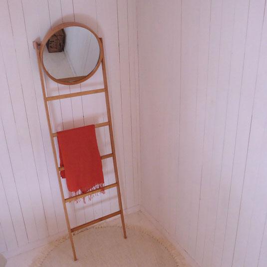 Miroir bambou échelle Bloomingville Vintage brocante tendance