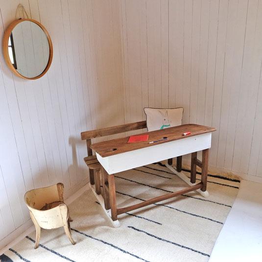 Miroir rond Bambou tendance Marie Claire Bloomingville