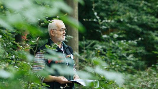 Rainer Städing im Forst - Foto: Max Hartung