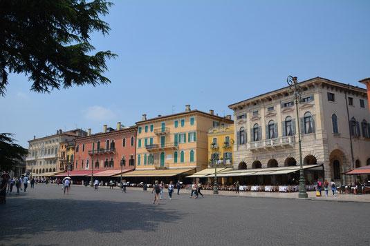 Liston-Promenade an der Piazza Brà