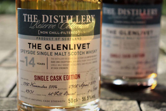 The Glenlivet Distillery Reserve Collection Bottle