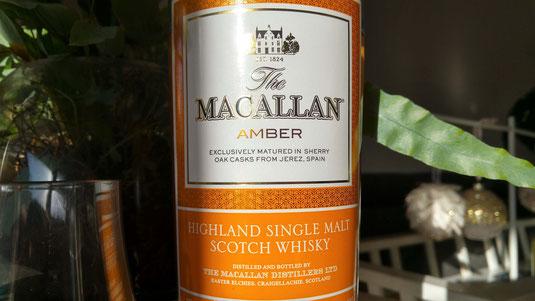 Macallan Amber Flasche