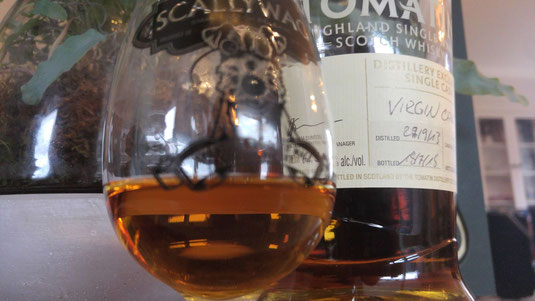 Tomatin 2013 / 2018 Virgin Oak im Glas
