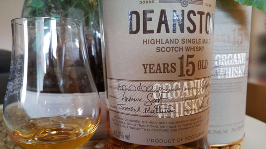 Deanston 15 Organic Single Malt Whisky