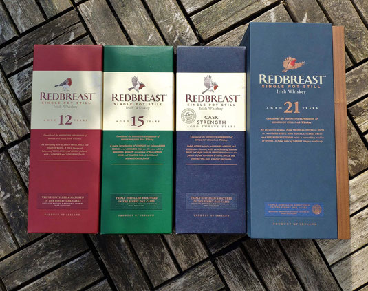 Redbreast Irish Whiskey Range