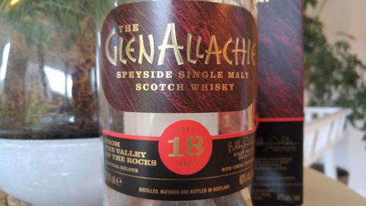 GlenAllachie 18 Jahre Flasche