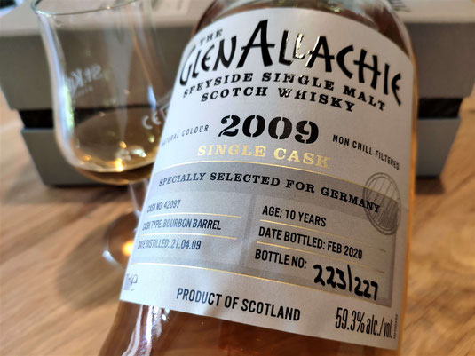 GlenAllachie Single Cask Whisky