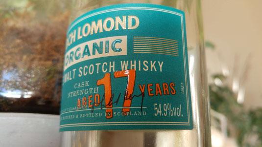 Loch Lomond 17 Jahre Organic
