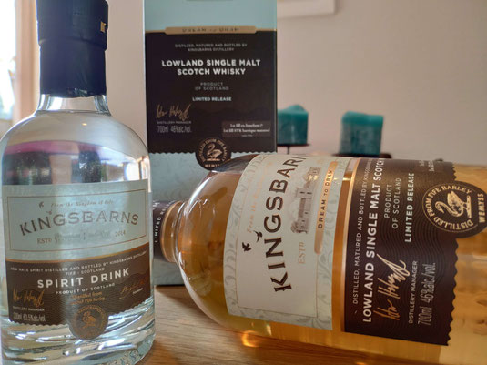 Kingsbarns New Make & Dream to Dram