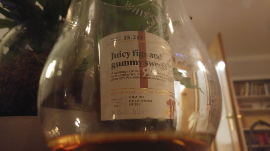 Glen Moray Juicy figs and gummy sweets 35.215
