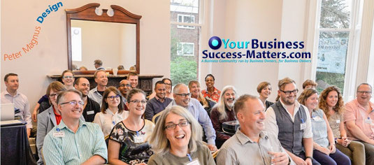 Business Success Matters monthly event for business owners start ups, business community and network with professional business speakers St Albans Hertfordshire