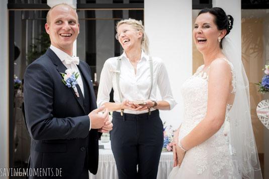 Freie Trauung Schloss Hohenkammer, Hochzeitsredner, Traurednerin