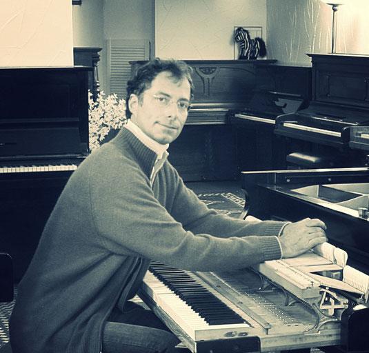 Moritz Benecke, Klaviere, Ahrensburger Klaviergalerie, Inhaber