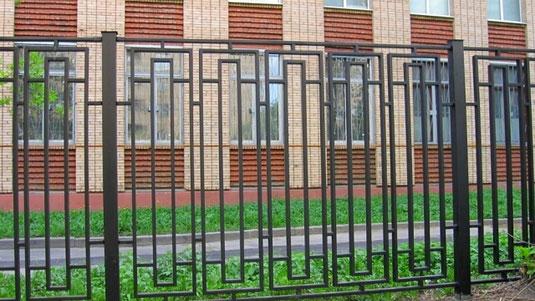 заборы металлические,заборные секции,заборы из металла