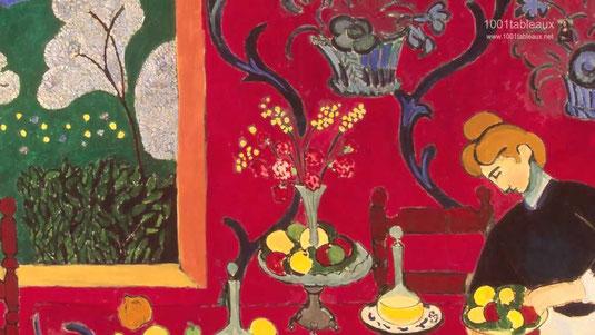 Matisse, détail