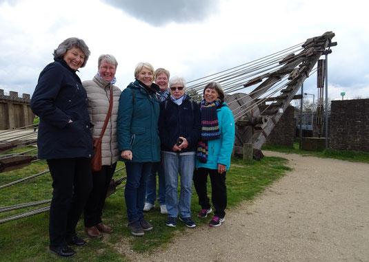 Die Ober-Saulheimer Landfrauen-Delegation in Xanten