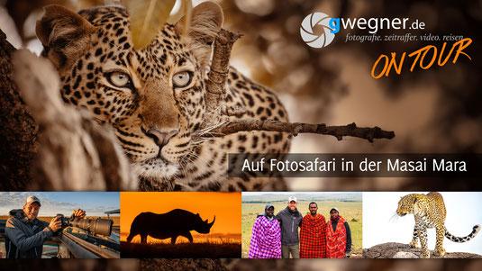 Fotosafari Masai Mara, Kenia - Film von Gunter Wegner