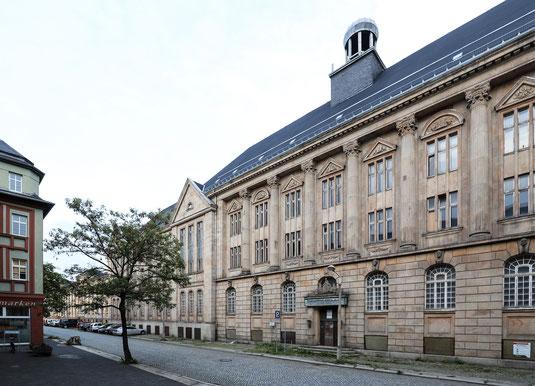 Mittelbau des Ernst-Seifert-Haus an der Otto-Schimmel-Straße