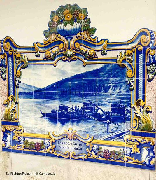 Pinhau Azulejos Douro-Tal Portugal Ed Richter Reisen-mit-Genuss.de