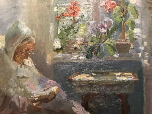 Anna Ancher malede en række portrætter af sin mor Ane Hedvig Brøndum